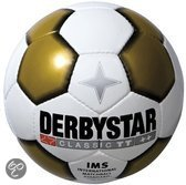 Derbystar Classic Wit/Goud voetbal
