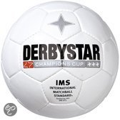 Derbystar Champions Cup Wit voetbal