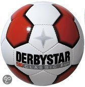 Derbystar Classic Superlight Wit/Rood voetbal