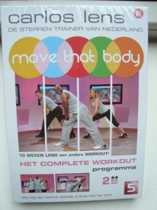 Top 10 Top 10 Vrije tijd, Sport & Lifestyle: Carlos Lens - Move That Body
