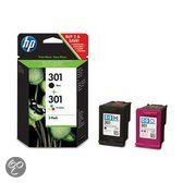 HP 301 - Inktcartridges / 2 Pack