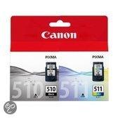 Canon PG-510/CL-511 - Inktcartridge / Combopack