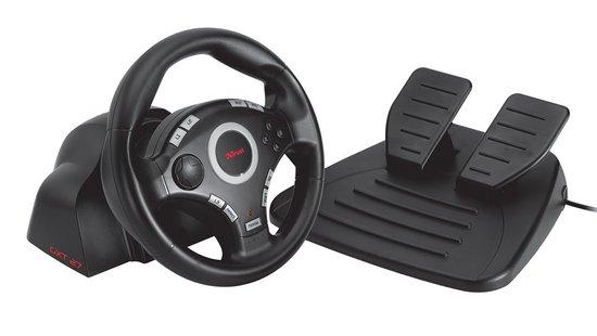Trust GXT 27 Racestuur Vibratie - Zwart (PC + PS3)