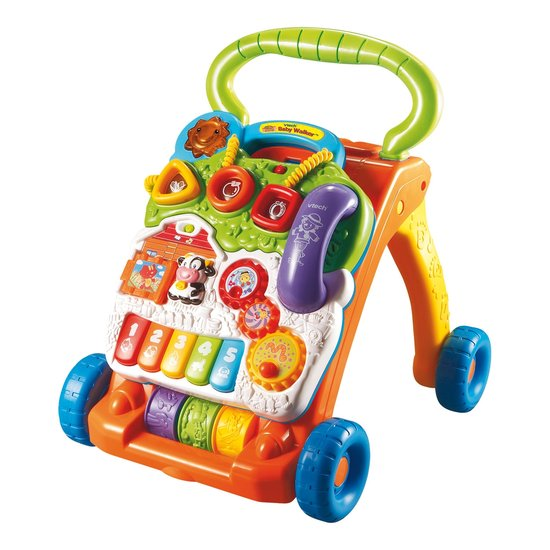 VTech Baby - Baby Walker - Oranje