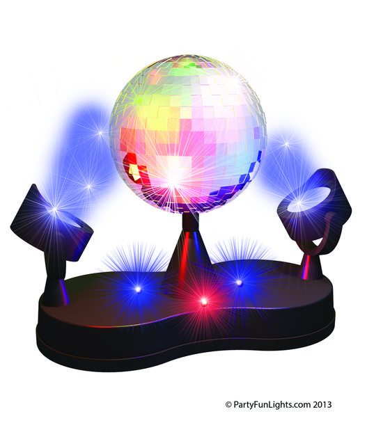 Disco Licht - Twin LED Project Disco Lamp