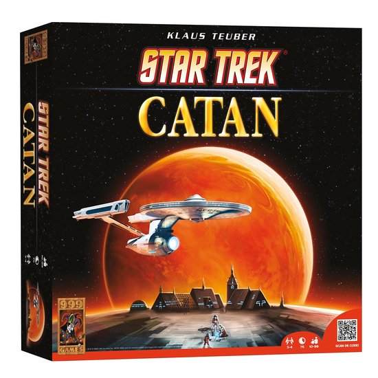 De Kolonisten van Catan - Star Trek - Bordspel