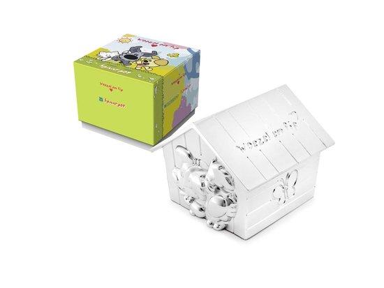Woezel & Pip - Zilveren Spaarpot