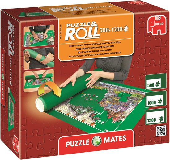 Jumbo Puzzle & Roll - Puzzelmat - 500 tot 1500 Stukjes