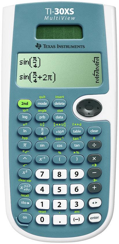 Top 10 Top 10 Computerwerkplek: Texas Instruments TI-30XS Multiview - Wetenschappelijke rekenmachine