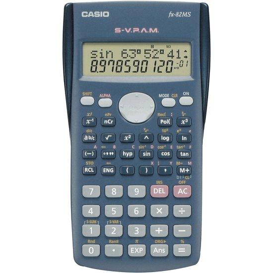 Casio FX-82MS - Wetenschappelijke rekenmachine