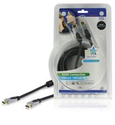 HQ - 1.4 High Speed HDMI kabel - 3 m - Zwart