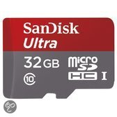 Sandisk Ultra microSD kaart 32 GB + Adapter