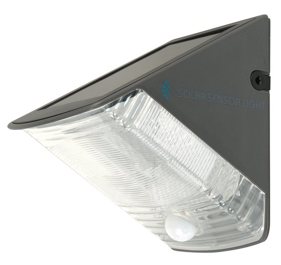 ranex olav solar buitenverlichting gevelverlichting met bewegingsmelder