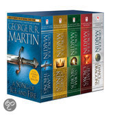Game of Thrones: A Song of Ice and Fire boxset (1-5)