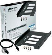 PNY Desktop Upgrade Kit - 3.5 naar 2.5 inch bay + 25cm Sata III kabel + schroefjes + schroevendraaier