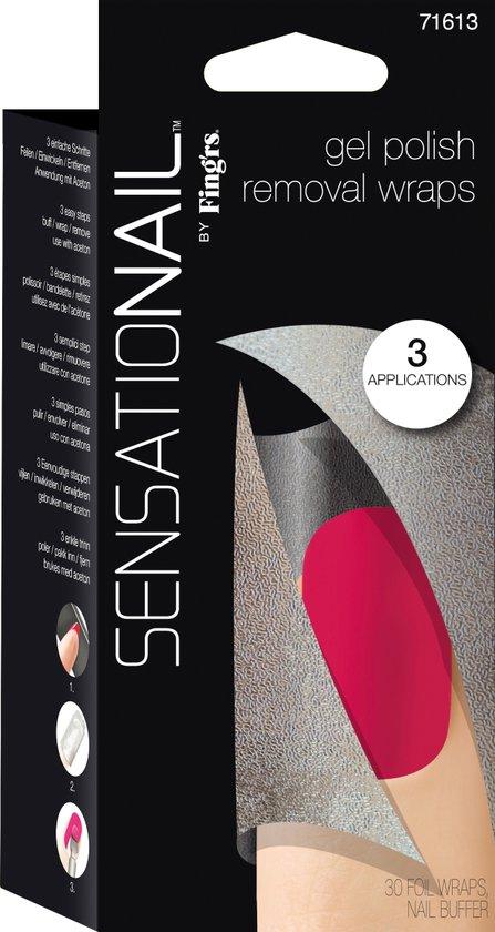 Sensationail Removal Wraps - Gel nagellak