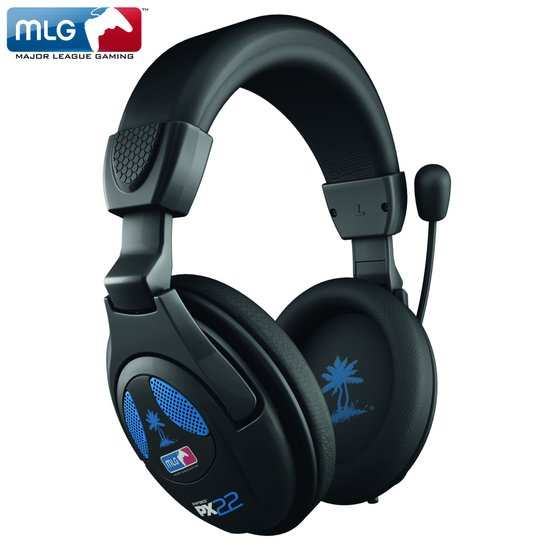 Turtle Beach Ear Force PX22 Wired Stereo MLG Gaming Headset - Zwart (PS4 + PS3 + Xbox 360 + PC + Mac + Mobile)