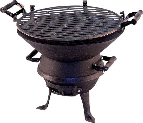 Top 10 Top 10 Barbecues: Potkachel Houtskoolbarbecue - Gietijzer
