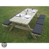Luxus Tuintafel Casual Economy 180 cm  picknicktafel