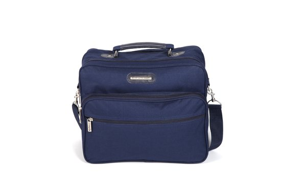 Adventure Bags Reportertas - Groot/Breed - Navy