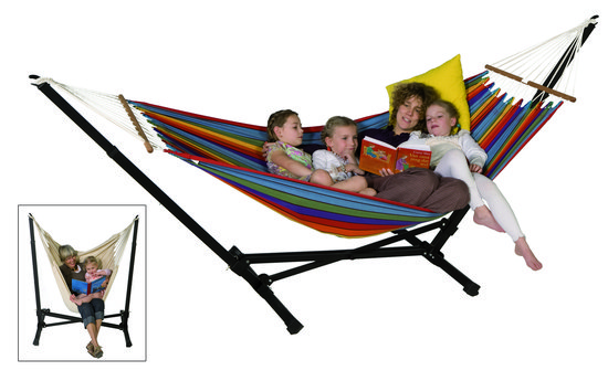 Hangmatstandaard - Multistand - Zwart