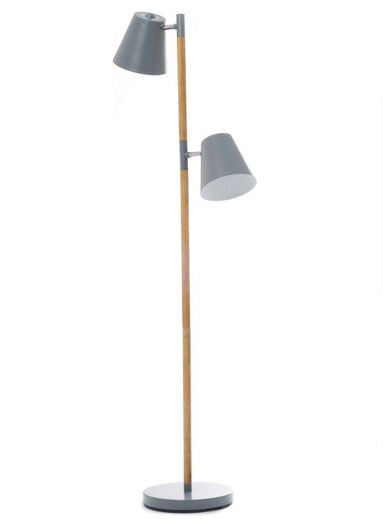 Leitmotiv Rubi - Vloerlamp - Grijs