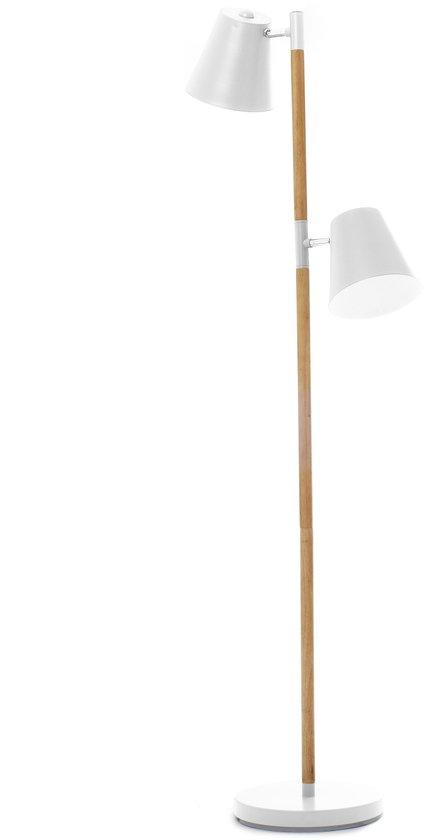 Leitmotiv Rubi - Vloerlamp - Wit