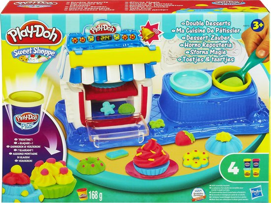 Play-Doh Toetjes & Taartjes - Speelklei