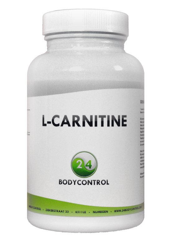 24Bodycontrol L-carnitine vetverbranders & -blokkers - 90 capsules - Voedingssupplement