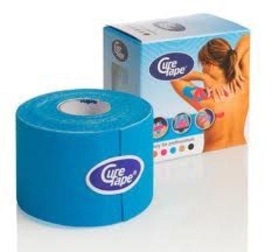 Kinesio Sporttape Kinesiotape Cure tape 5cm * 5m blauw