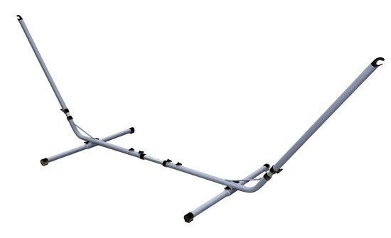 Bo-Garden - Hangmatstandaard - Verstelbaar - Zilver