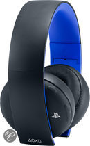 Sony PlayStation 4 Wireless 7.1 Virtueel Surround Gaming Headset PS4 + PS3 + PS Vita + PC + MAC + Mobile - Zwart