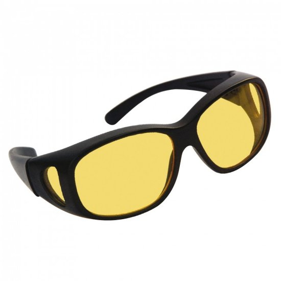 Gerant-o-Matic Nachtbril, mistbril en autobril - Zwart