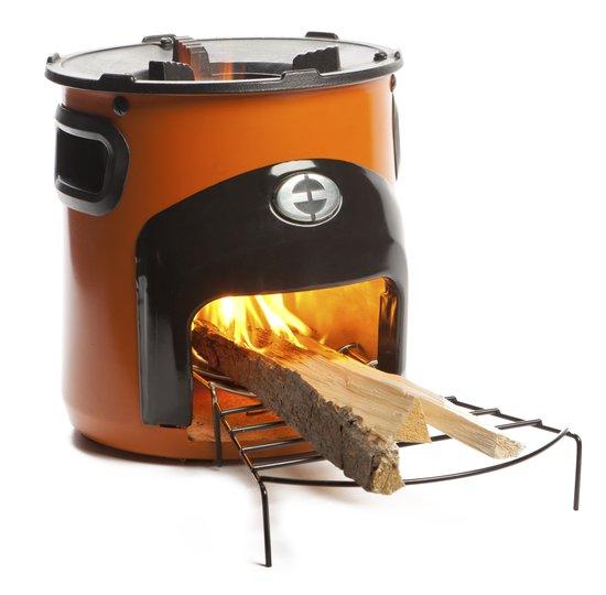 Top 10 Top 10 Barbecues: COOX Stove Hout Kooktoestel - Oranje
