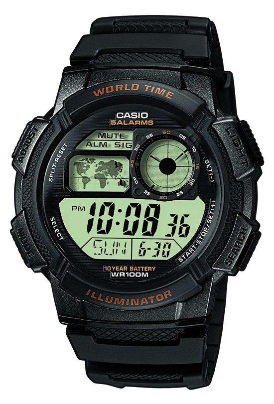 Casio AE-1000W-1AVEF - Horloge - 43.70 mm - Zwart