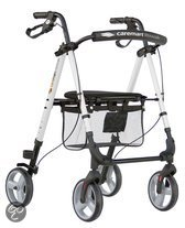 Rollator Caremart Litewalk White