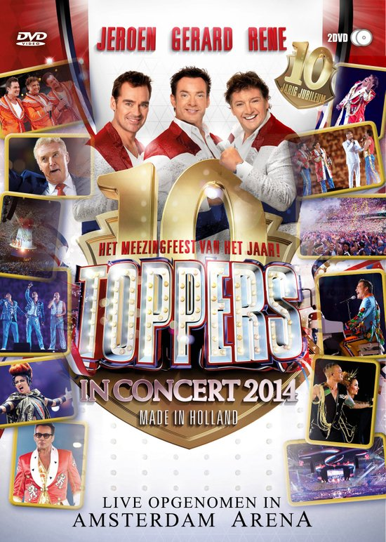 Top 10 Top 10 Pop & Rock: Toppers - Toppers In Concert 2014