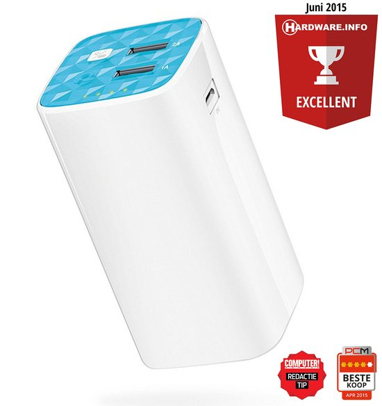 TP-Link TL-PB10400 Power Bank 10400 mAh Power Bank - Wit
