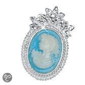 Luigi Vicaro Cameo Jewelry broche-speld Broche