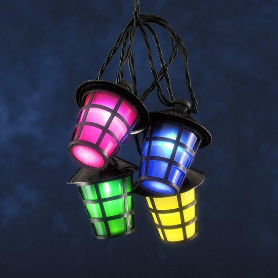 Konstsmide - LED Partyverlichting lantaarnsnoer 24V 40x - multicolor
