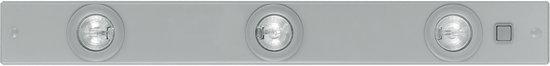 EGLO Extend 1 - Onderbouwarmatuur/Keukenverlichting - 3 Lichts - Zilver