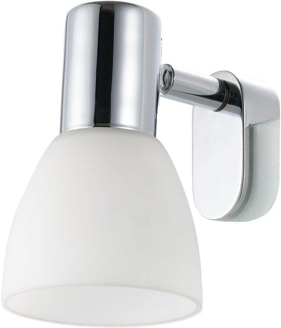 EGLO Sticker - Spiegellamp - 1 Lichts - Chroom - Wit