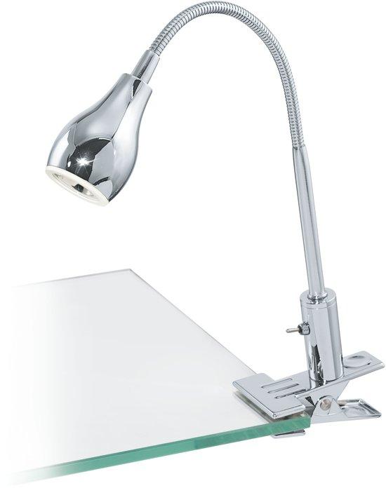 EGLO Naira 1 - Klemspot/Bureaulamp  - LED - Chroom