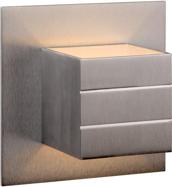 Lucide Bok 69 - Wandlamp - 1 lichts - Aluminium