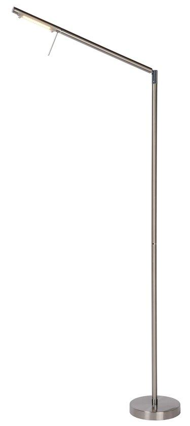 Lucide Bergamo - Leeslamp - LED - Touch Dimbaar - Geborsteld staal
