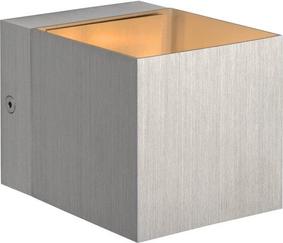 Lucide Devi - Wandlamp - Vierkant - Aluminium