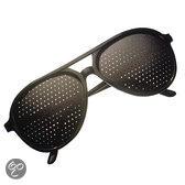 Aerobic - Overzetzonnebril - Zwart - Antiverbilnding