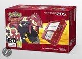 Nintendo 2DS Handheld Console + Pokemon Omega Ruby - Transparant Rood 2DS Bundel
