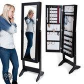 Top 10 Top 10 staande spiegels: Sieradenkast - Passpiegel - zwart