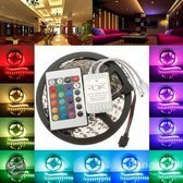 OmYmo SMD5050 - Led strip - 5m - RGB - 36W - IP21 - Incl. 24 button remote